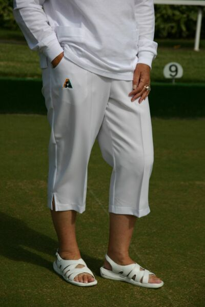Domino Lawn Bowls Clothing - Pedal Pushers