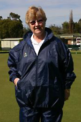 Domino Lawn Bowls Garements - Junior Navy Ladies Waterproofs waterproof pants for bowling