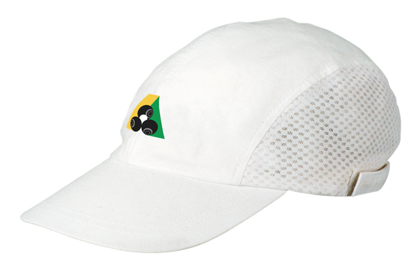 Domino Lawn Bowls Clothing - Brushed Cotton Baseball Cap