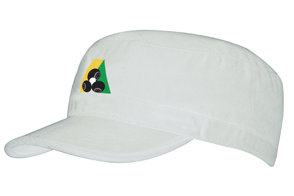 Domino Lawn Bowls Clothing - Sports Twill Military Cap
