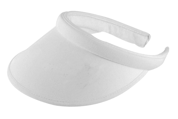 Domino Lawn Bowls Clothing - Brushed Heavy Sports Twill Covered Eva Visor