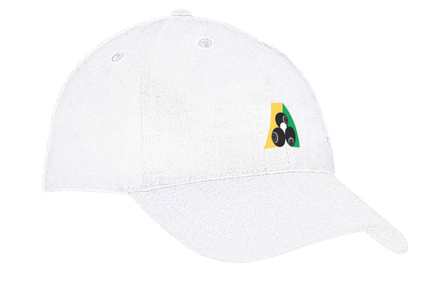 Domino Lawn Bowls Clothing - Brushed Heavy Cotton Cap