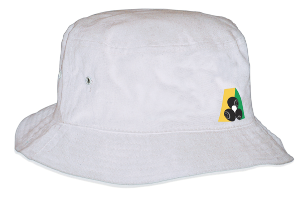 Domino Lawn Bowls Clothing - Brushed Sports Twill Bucket Hat