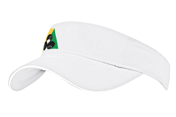 Domino Lawn Bowls Clothing - Brushed Heavy Cotton Visor