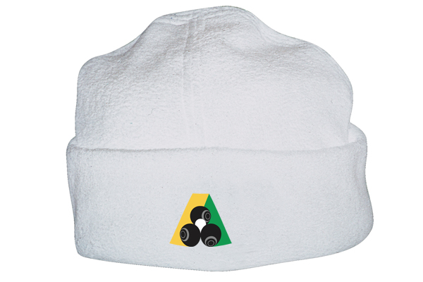 Domino Lawn Bowls Clothing - Micro Fleece Beanie