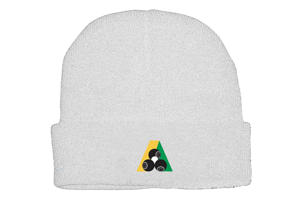 Domino Lawn Bowls Clothing - Acrylic Beanie